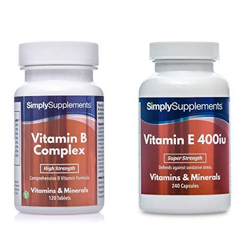 Vitamin B Complex (120) & Vitamin E 400iu (240)