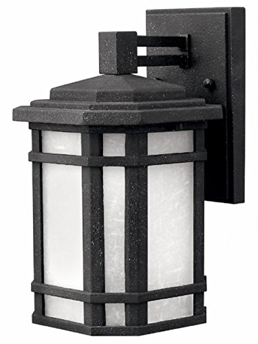 - Hinkley 1270VK Craftsman/Mission One Light Wall Mount from Cherry Creek collection in Blackfinish,
