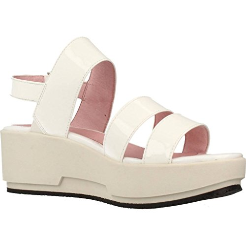 Sandals White Brand Women Model and Women 8 Ketty Slippers and Colour Slippers for White Stonefly White Sandals for W8Ypzz