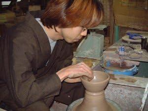 豪華酒器セット 陶芸作家 安藤嘉規作 麦焼酎 閻魔 720ml)