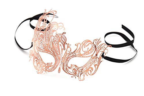Gold Masquerade Masks For Women - Luxury Masquerade Mask for Women Metal