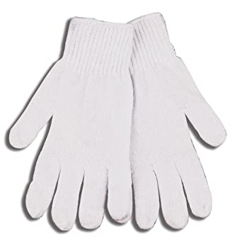 Kinco 1775 Heavy Weight Synthetic Polyester/Cotton Blend String Knit Glove, Work, Large, White (Pack of 12 Pairs)