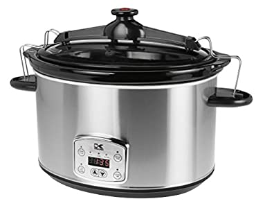 Kalorik SC 41175 SS  Stainless Steel 8qt : Really great slow cooker