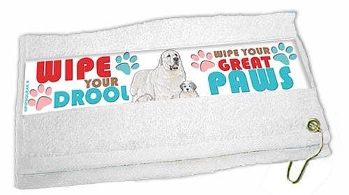 Great Pyrenees Paw Wipe Towel