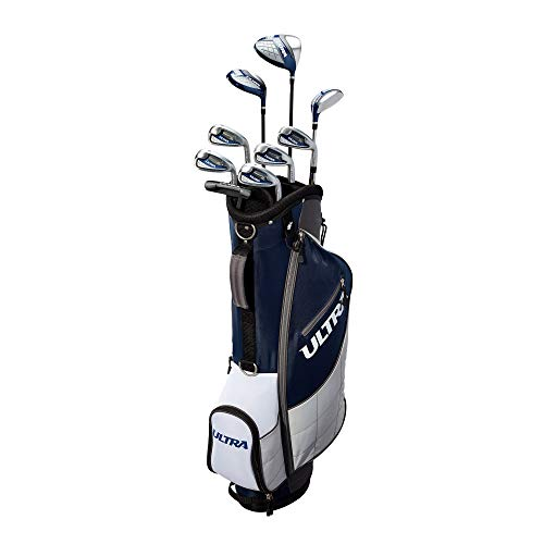 Wilson Golf Ultra Men's 9-Club, Right-Handed Set w/Bag and Covers, Deepwater