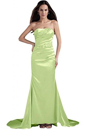 abiti elegante Salvia perline da per o cerimonia senza spalline sera sirena da Sunvary con qAdXwRA