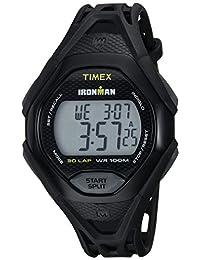 Timex Men's TW5M10400 Ironman Sleek 30 Black Resin Strap Watch