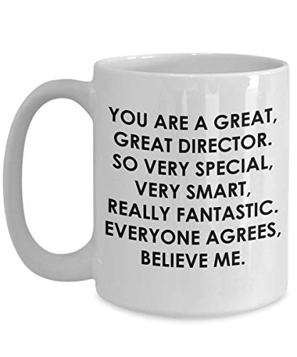 Director Mug Worlds Okayest Movie Communications Band Best Film Music Funeral Executive Nursing Preschool Assistant Activities Athletic Medical - Director Worlds Best Music