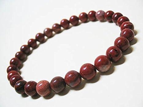 sito affidabile 74aee d6a34 Rosso diaspro bracciale braccialetto da uomo, bracciale ...