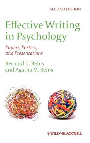 Effective Writing in Psychology: Papers, Posters,and Presentations 2nd edition by Beins, Bernard C., Beins, Agatha M. (2012) Hardcover