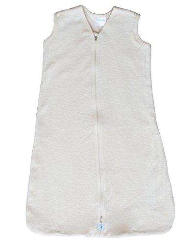 (CastleWare Baby- Sleeper Bag - Organic Cotton Velour - Sleeveless- Newborn - 3 Years (Natural, XL 18-24 mos.))