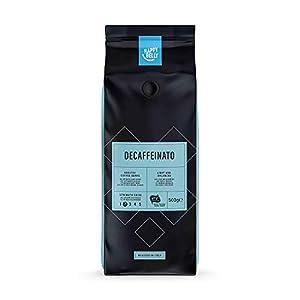 """Marchio Amazon - Happy Belly Chicchi di caffè decaffeinato """"Decaffeinato"""" (2 x 500g)"""