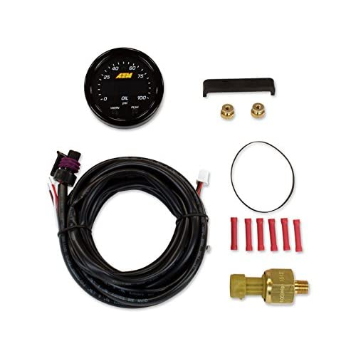 Image of AEM 30-0301 X-Series Pressure Gauge