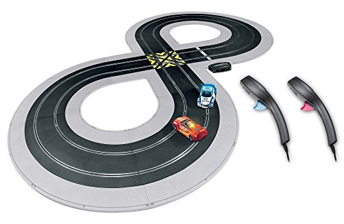 Scalextric C1323T Build, Race Quick Build Cops N Robbers 1:32 Slot Car Race Set