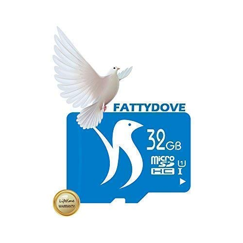 FATTYDOVE Micro SD Card SD Capacity Memory Cam/Action Camera/GoPro Adapter