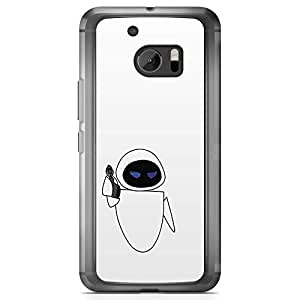 Loud Universe Gobal Warming Wall E HTC 10 Case Robot HTC 10 Cover with Transparent Edges