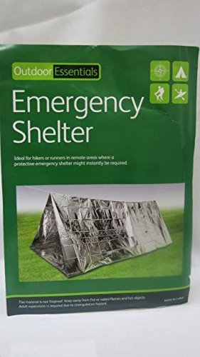 YANGXIN Outdoor Solutions Survival Emergency Shelter Tent - Silver
