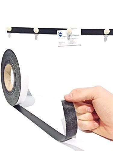 Eisenband Ferroband selbstklebend 20mm x 0,6mm x 10 Meter Braun Magnetband Magnethaft Wandleiste Selbstklebend Ferroleiste