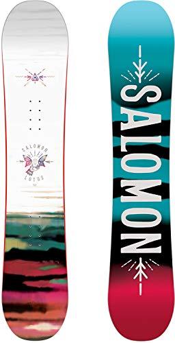 Salomon 2019 Lotus Women's Snowboard (138cm) (The Best Snowboard 2019)