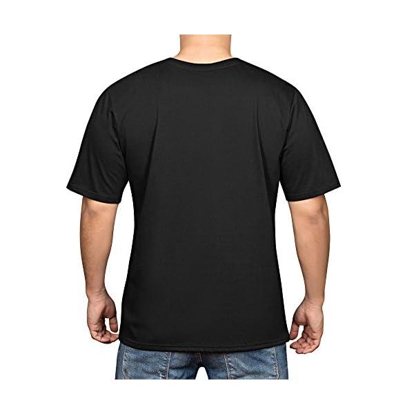 YAO STARS Rainbow Unicorn Printed Cotton Men's Funny Cool T-Shirts Short Sleeve Tops Tee 4