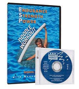 E.S.P. Noodle Workout Water Aerobics DVD & CD with Karen Westfall