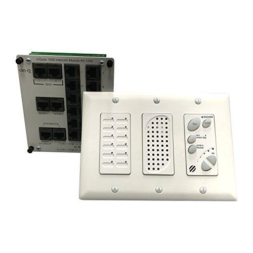 Intercom Module (Legrand - On-Q IC1002WH inQuire Intercom Module And Main Console)