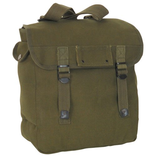 Fox Outdoor Products Musette Bag, Olive Drab, 12 x 12-Inch