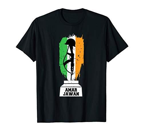 I Love Indian Army Amar Jawan Patriotic Jai Hind T-shirt (Jab Tak Hai Jaan 1080p English Subtitles)