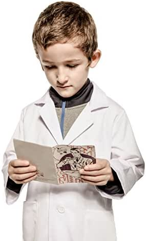 Working Class Kid's Lab Coat Durable Lab Coats for Kid Scientists or Doctors