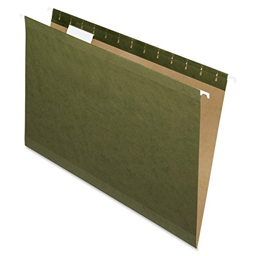 Pendaflex Standard Green, Legal size, Hanging File Folder,25 per box 2-Pack by Pendaflex