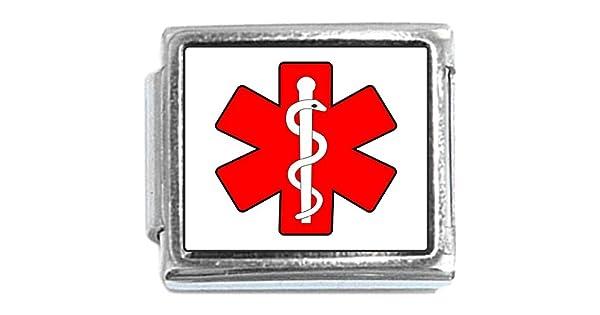 Medical Symbol Star Of Life Italian Charm NewCharms CT1053