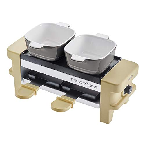 recolte''Raclette & Fondue Maker Melt'' (Beige) RRF-1(BE)【Japan Domestic Genuine Products】【Ships from Japan】 by Recolte