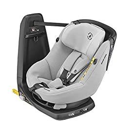 Maxi-Cosi AxissFix Toddler Car Seat, Swivel Car Seat, 4 months – 4 years, 61 – 105 cm, Authentic Grey