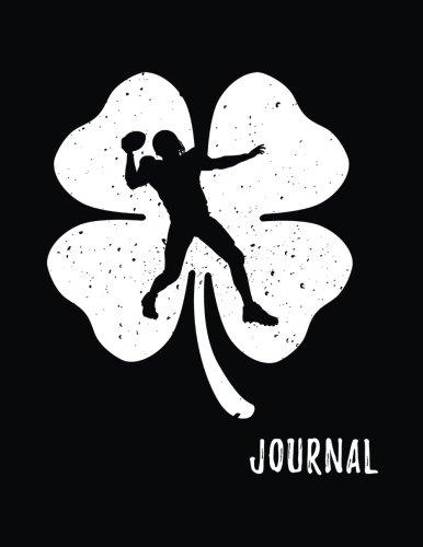Download Journal: Football, St. Patrick's Day Journal Notebook, Blank Sketchbook For Kids (Sketch, Draw and Doodle) V1 pdf epub