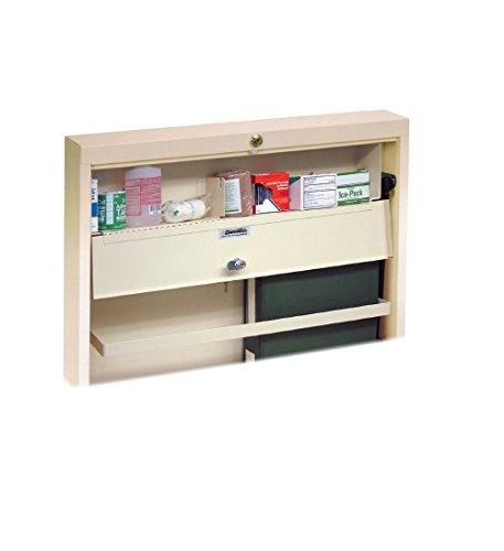 Omnimed 291573-LG Narcotics Distribution/Storage Cabinet, Light Grey, Large