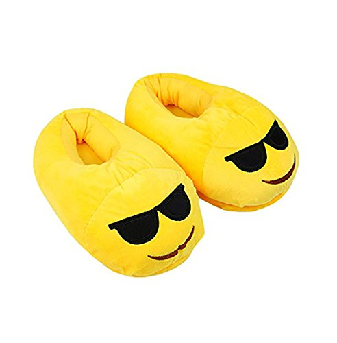 Flying fish Cute Emoji Slippers Plush Cotton Comfortable