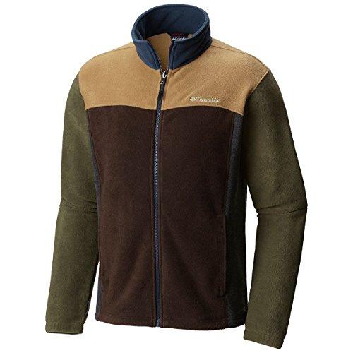 Columbia Men's Buckeye Springs Fleece Jacket Glare Multi M