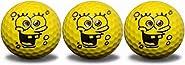 GBM Golf Sponge Ball Character 3 Ball Pack