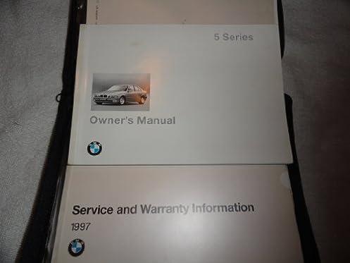 1997 bmw 528i 540i owners manual 528 540 i bmw amazon com books rh amazon com 1997 BMW 540I Fuel Economy 1997 BMW 540I Clank Noise