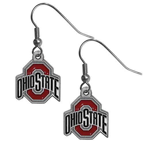 - NCAA Ohio State Buckeyes Dangle Earrings