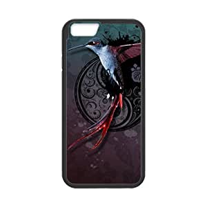 iPhone 4 4s Protective Case - Holy Hummingbird Hardshell Cell Phone Cover Case for New iPhone 4 4s Designed by HnW Accessories