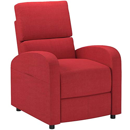 Acme Furniture 59345 Croria Recliner with Power Lift, Red Fa
