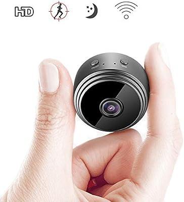 Detecci/ón de Movimiento C/ámara de Seguridad 1080P C/ámara HD 1080P IP Con Gran Angular de 360 /° Visi/ón Nocturna por Infrarrojos