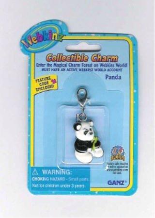 Webkinz Collectible Charm - PANDA