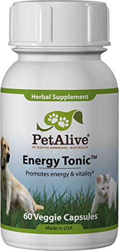 PetAlive Energy Tonic for Energy, Health and Vitality (60 Caps)