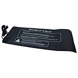 """Apollo Horticulture 9""""x20"""" Seedling Heat Mat for Propagation and Cloning"""