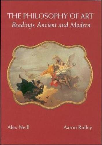 The Philosophy of Art: Readings Ancient and Modern by McGraw-Hill Humanities/Social Sciences/Languages