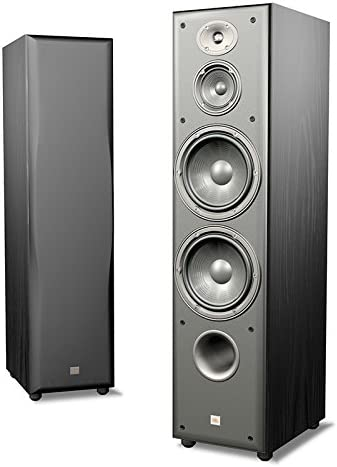 JBL Northridge E80 3-Way Dual 6-Inch Floorstanding Speaker, Single Black Ash Discontinued by Manufacturer