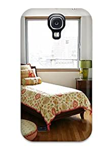 New Snap-on DustinHVance Skin Case Cover Compatible With Galaxy S4- Small Girl8217s Bedroom With Decal Wall Art