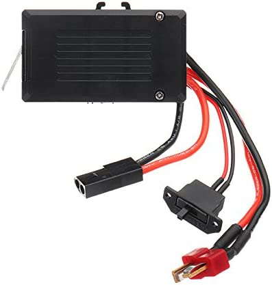 HELEISH Q39 2.4G R//C 4WD 1:12 RC Car Parts NO.FY-RX01 2CH 40A Receptor ESC Control Monocasco Piezas de Montaje de Bricolaje